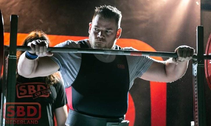 Powerliften Weert Nederlands kampioen Teun Moors
