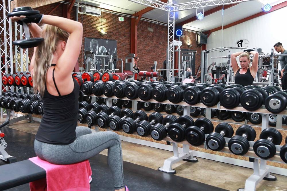 Met losse gewichten trainen voordelen